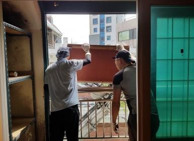 1톤, 2t, 3톤 가정집 이사 폐기물  비…